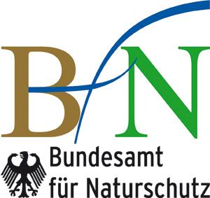 Logo des Bundesamtes fuer Naturschutz als Foerderer von Wildpflanzenschutz Deutschland