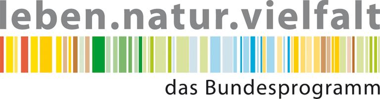 Logo des Programmes leben.natur.vielfalt des Bundesamtes fuer Naturschutz- Wildpflanzenschutz Deutschland
