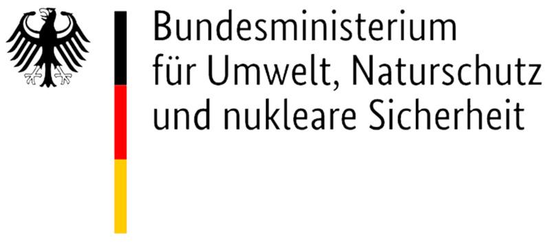 Logo des Bundesamtes fuer Umwelt, Naturschutz, Bau und Reaktorsicherheit als Foerderer von Wildpflanzenschutz Deutschland