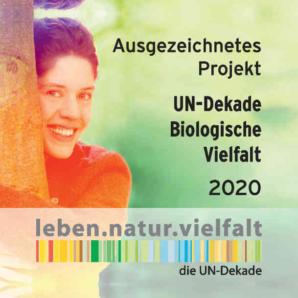 Ausgezeichnetes Projekt - UN-Dekade Biologische Vielfalt 2020